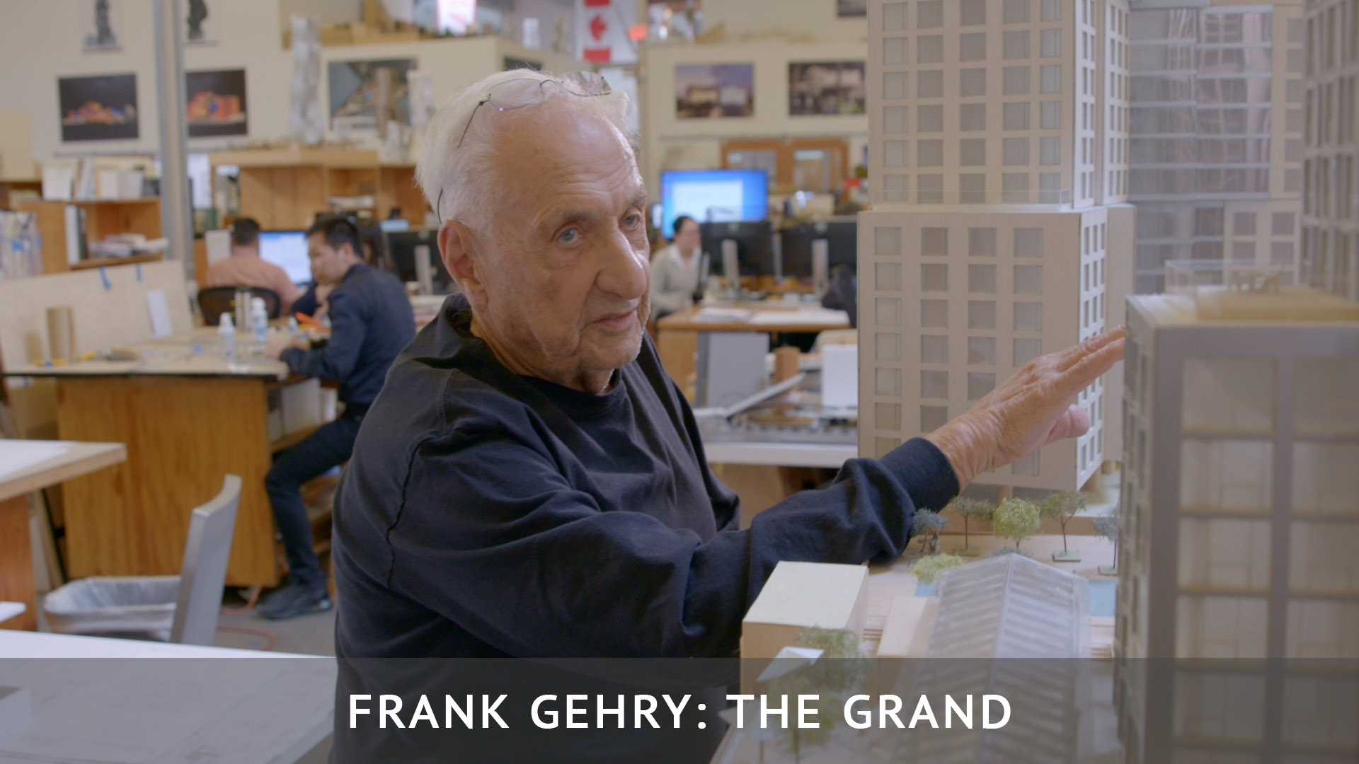 Frank Gehry: The Grand Color Grading / Post Production