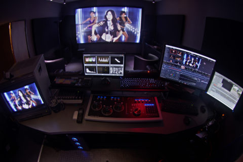 Color Grading Online Editing Projection Theater